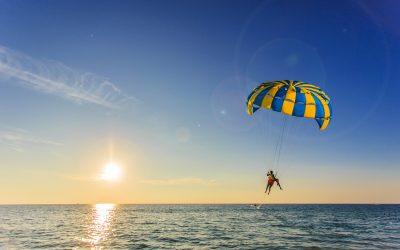 Paragliding on Madeira